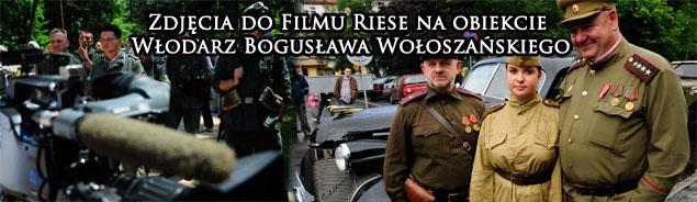 """Zdjęcia do filmu """"RIESE"""" na Włodarzu 2012 r."""
