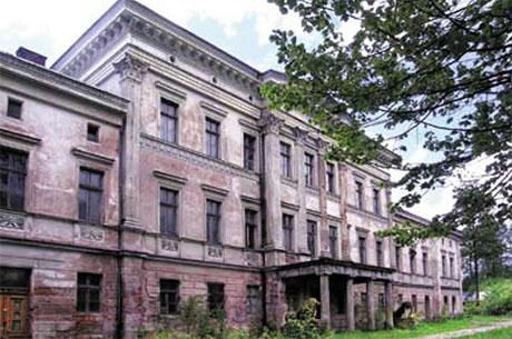 Dawna siedziba dyrekcji - Pałac rodziny Bohm w Jedlince