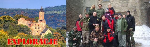 Poszukiwania na Zamku Grodno<br /> 09.03.2013