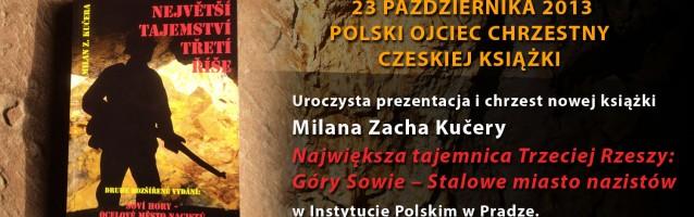 Polski Ojciec Chrzestny czeskiej książki. 23.10.2013r