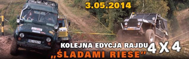 Rajd Śladami Riese 03.05.2014 r.